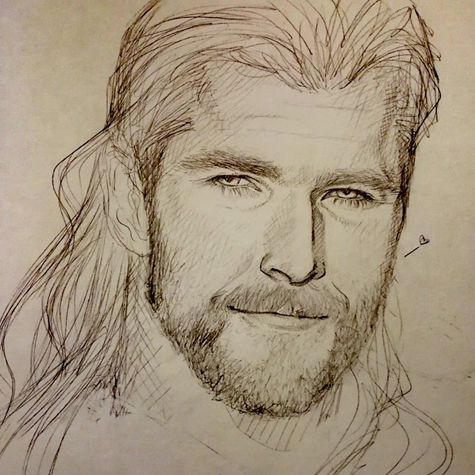 Thor, god of thunder (chris hemsworth)